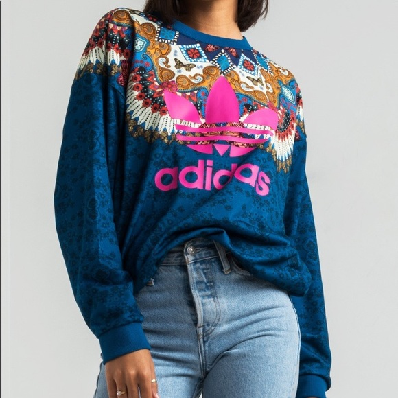 a2380c2d49b adidas Sweaters - Adidas   Farm Borbomix TreFoil Sweatshirt   XL